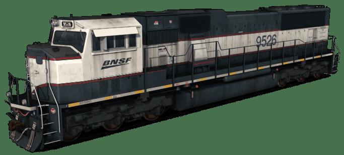 EMD SD70MAC - BNSF 4 Pack